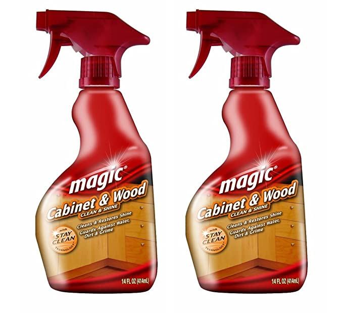 Amazon.com: Magic Cabinet and Wood Cleaner, 14 Ounce (2 Pack ...