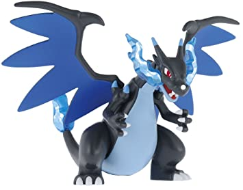 Pokemon Plastic Model Collection Select The Series Mega Charizard X By Bandai