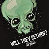 Popfunk Ancient Aliens Will They Return T Shirt