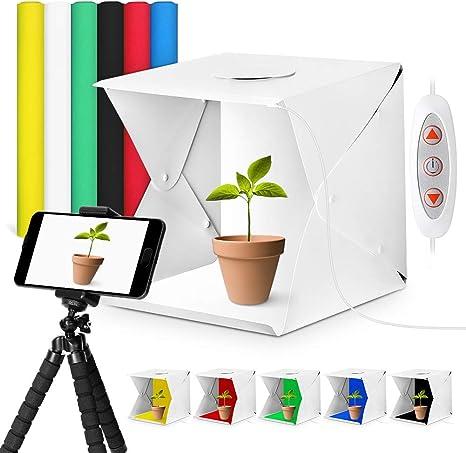 Ymiko Caja de Luz 40x40x40cm Tienda de Tiro Plegable Mini ...
