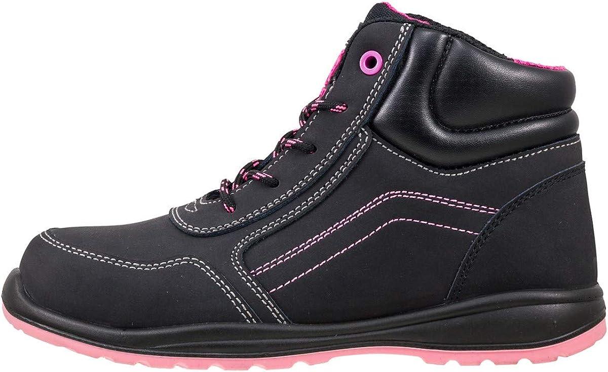 Emballage dorigine Urgent Industrie Lady Chaussures de Travail S/écurit/é Chaussures de S/écurit/é Mod/èle 116/S1/en ISO 20345/Neuf