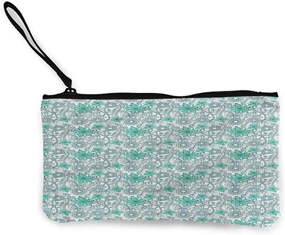 Small Purse TurquoiseDoodle...