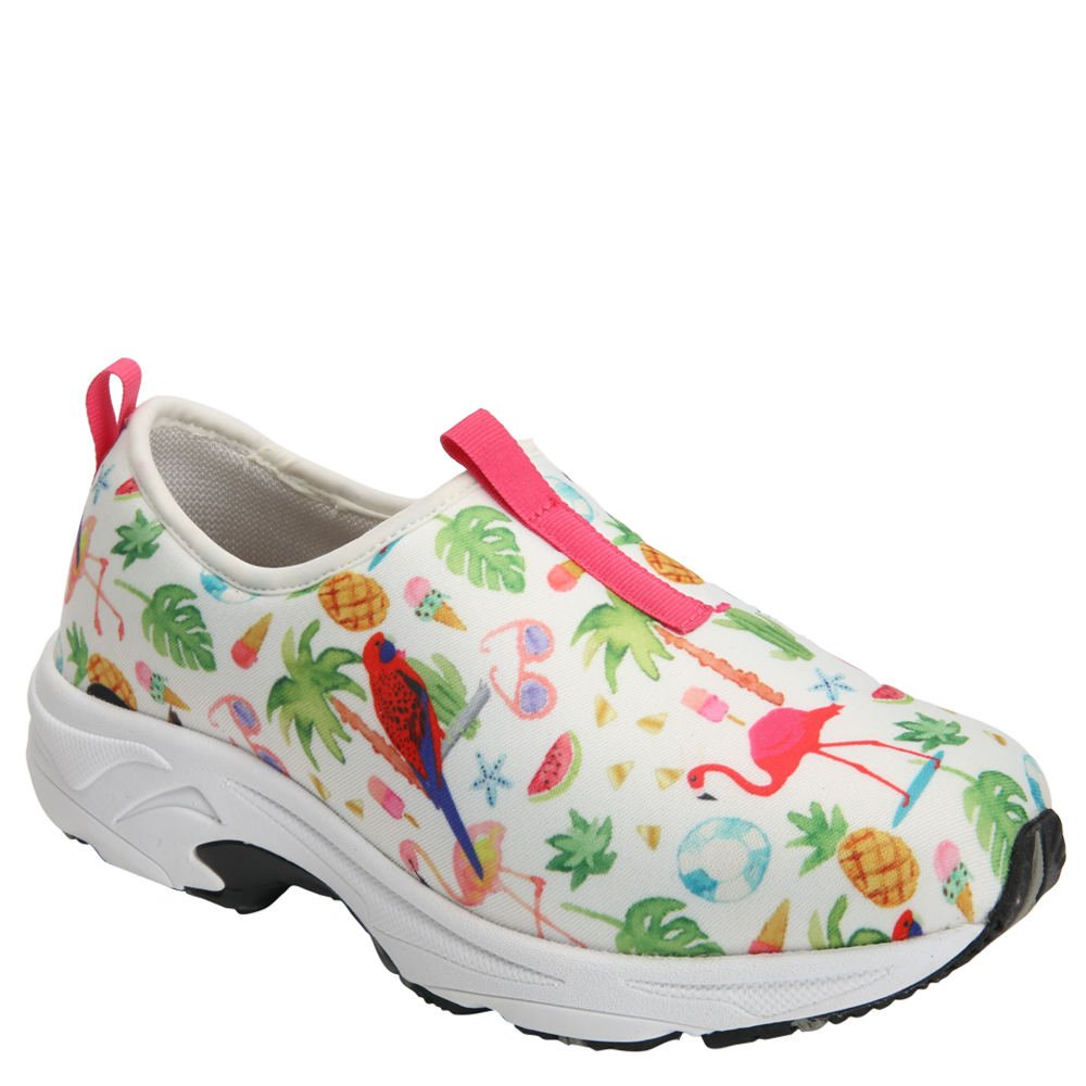 Drew Shoe Women's Blast Synthetic Athletic Sneakers B01FEI1FWO 8 B(M) US|Flamingo Print