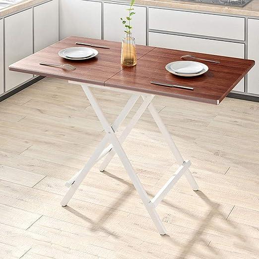TT-Folding table Mesa Plegable Mesa De Comedor Simple Mesa De ...