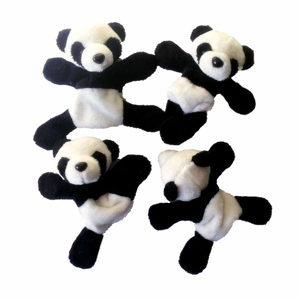 Connia Kitchen Supplies 1Pc Cute Soft Plush Panda Fridge Magnet Refrigerator Sticker Gift Souvenir Decor