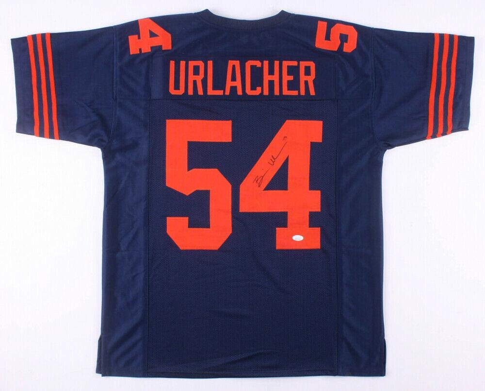 detailed look b3036 8aef9 Autographed Brian Urlacher Jersey - PRO STYLE w WITNESSED ...
