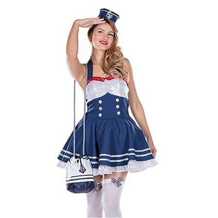 62828051c04d74 Kostüm glamour matrosin kleid haarreif seefahrerin navy marine karneval  spielzeug jpg 450x450 Amazon haarreif fasching kostüme
