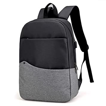 HEMFV La mochila para computadora portátil de moda contiene bolsillos multifuncionales, mochila de viaje duradera