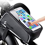 Mountain Bike Accessories for Men Women - Bicycle Accessories for Men Women - Bike Phone Bag Bike Pouch – Mountain Biking Accessories for Men Women - Compatible with iPhone X XS Max XR Plus Below 6'