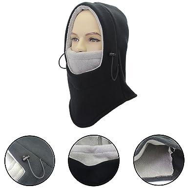 cf89a242375a Nameblue Balaclava Chapeau Cagoule Ski Masque du Visage Cou Résistante au  Vent en Polaire Multifonction pour