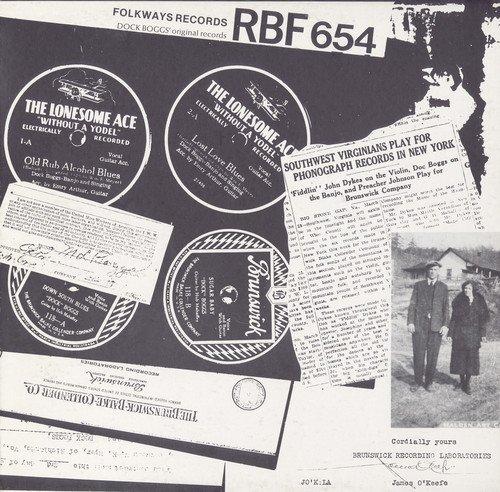 Price comparison product image Dock Boggs - His Twelve Original Recordings