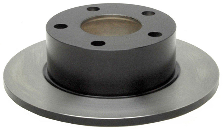 ACDelco 18A636A Advantage Non-Coated Rear Disc Brake Rotor