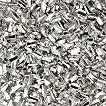 "Silver Solder Ultra Tiny Precut Pieces 0.5mm X 1mm X .25mm ""Medium "" Density Chip (Qty=1500)"