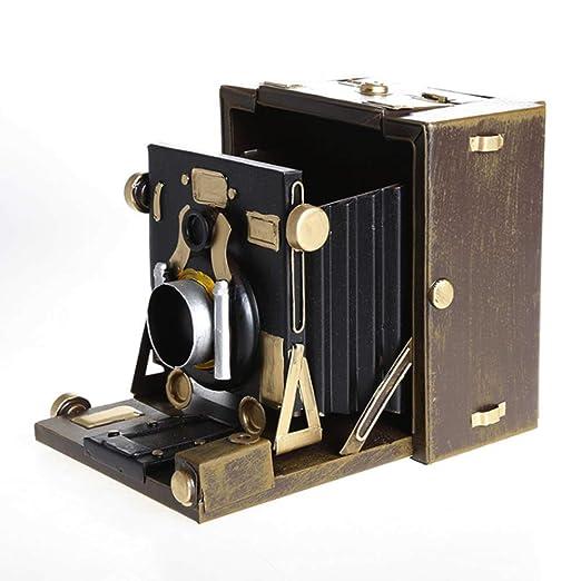 Xinyexinwang Cámara Vintage Retro Modelo 1900 cámara Antigua ...