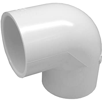 genova products 30707cp 34inch 90 degree pvc pipe elbow 10 pack
