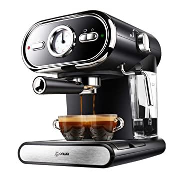 Máquina De Café De Extracción De Alta Presión Semiautomática 20Bar, Control Completo De La Temperatura De Visualización En El Hogar: Amazon.es: Hogar