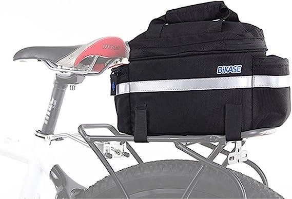 BiKase 1011 Koolpak Insulated Rack Trunk//Handlebar Bag Black