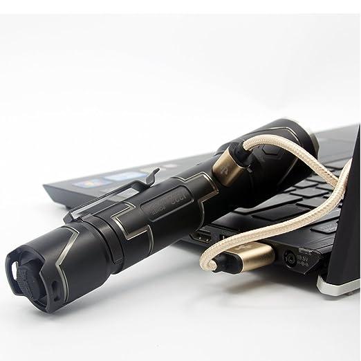 18 opinioni per Wuben I333 Tattica Militare potenti Torcia portatili Kit max 1100 lumen CREE