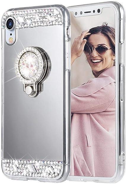 iPhone XR Clear Keyscaper NCAA Miami Hurricanes Apple iPhone Glitter Case