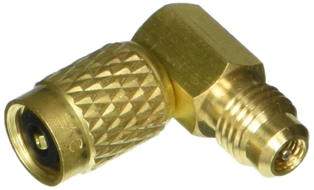 Four Seasons 59615 1/4MFx1/4FF 90° R12 Service Adapter with Swivel