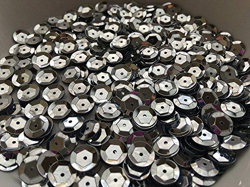 - Sequins 10mm 1000/Pkg Silver