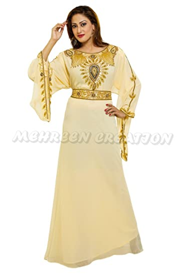 MEHREEN CREATION Dubai Modern Kaftan Jilbab Moroccan Arabian Farasha ... f2bf0034a3c