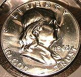 1963 Franklin Proof Half Dollar Gem Ultra Cameo