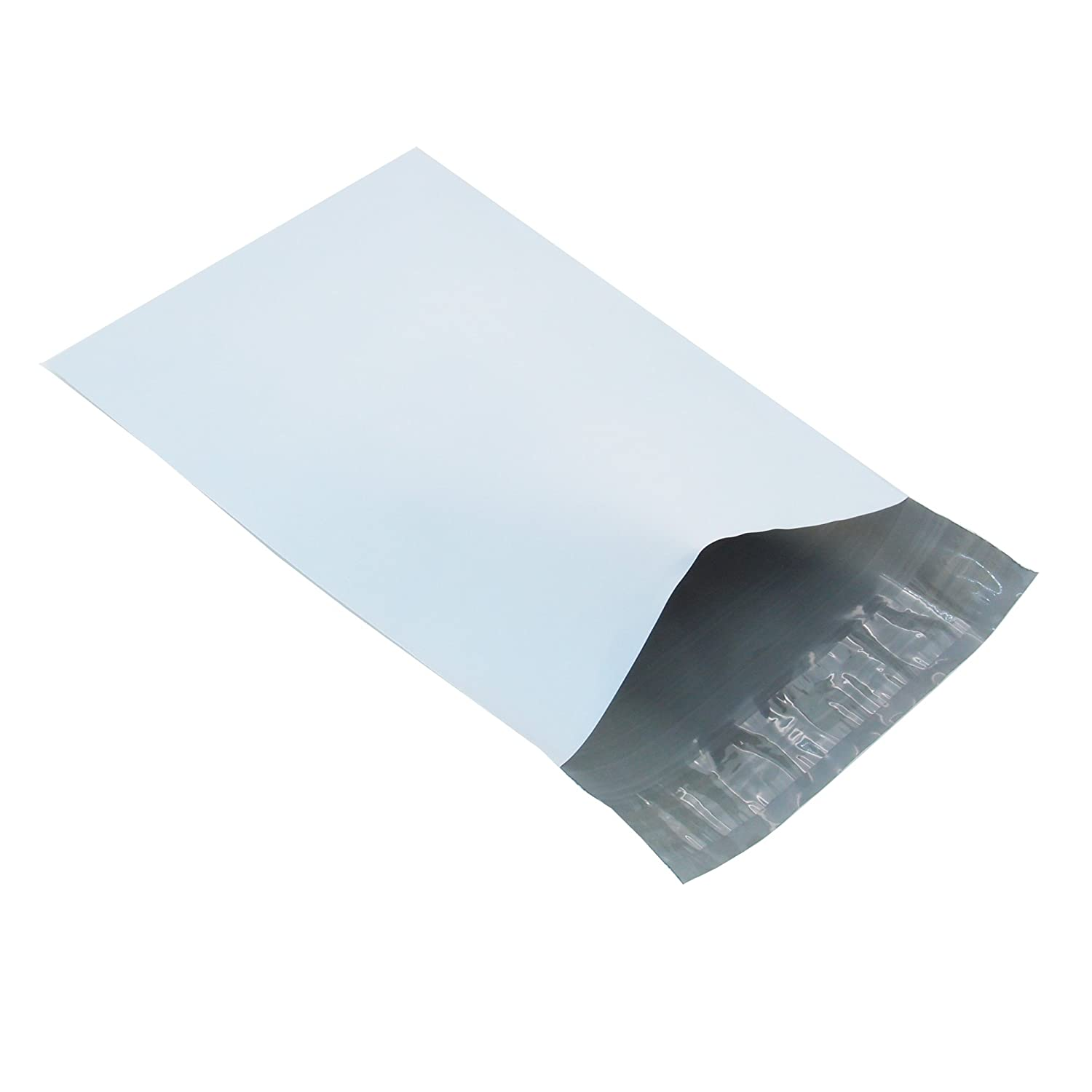 Progo 100 ct 10x13 Self-seal Poly Mailers. Tear-proof, Water-resistant and Postage-saving Lightweight Plastic Shipping Envelopes / Bags.