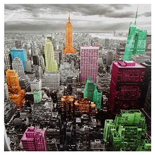 Oriental furniture high lights of new york skyline canvas wall art