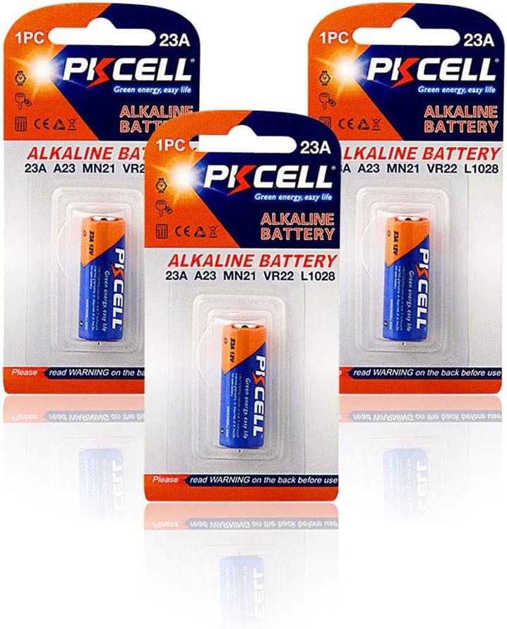 23A A23 23A Mn21 12V gp23a baterías alcalinas para timbre, control remoto, batería seca (3 unidades)