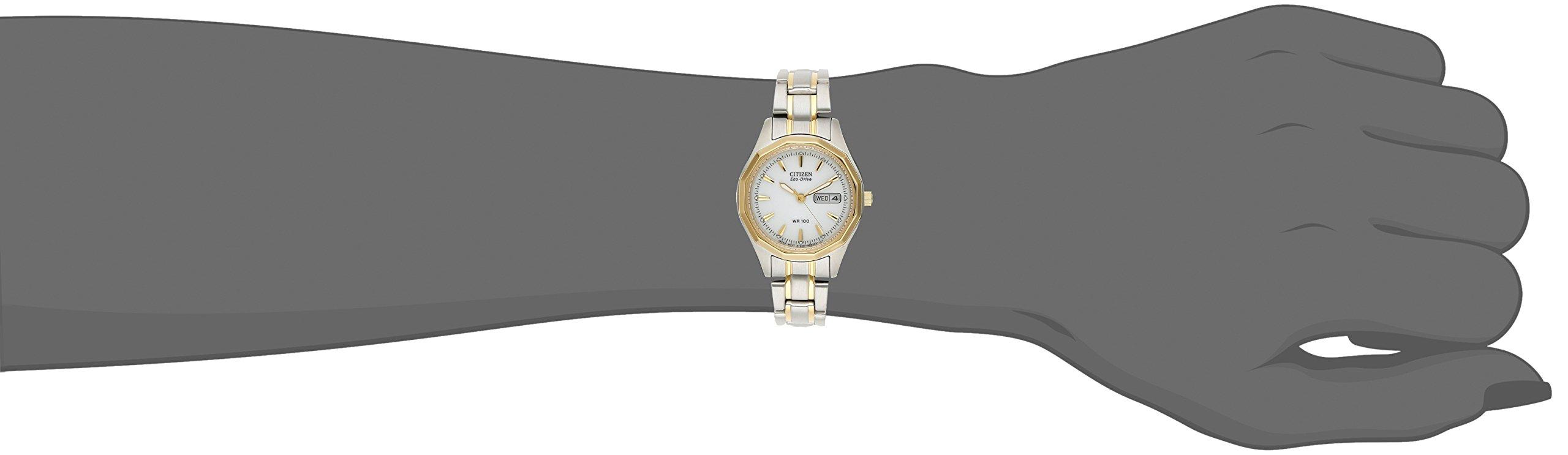 Citizen Women's EW3144-51A Eco-Drive Sport Two-Tone Watch by Citizen (Image #3)