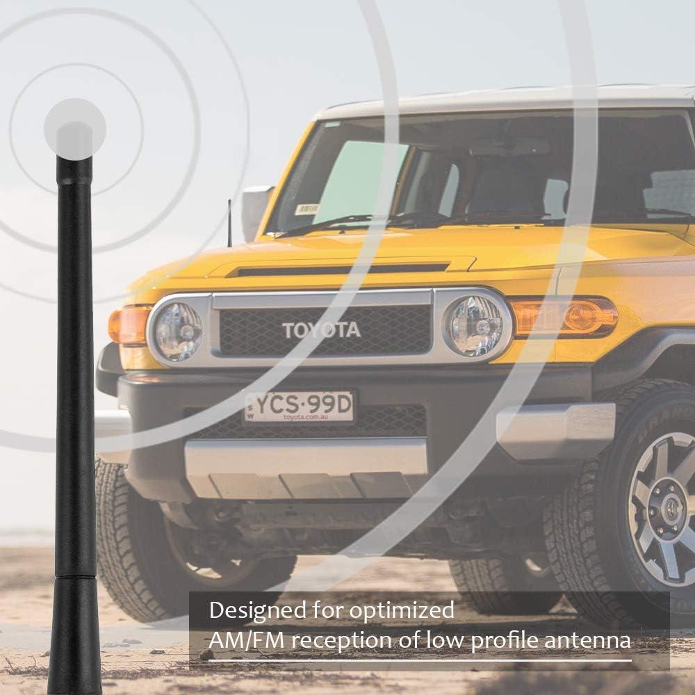 Flexible Radio Antenna Compatible with 2001 to 2015 Toyota Rav4