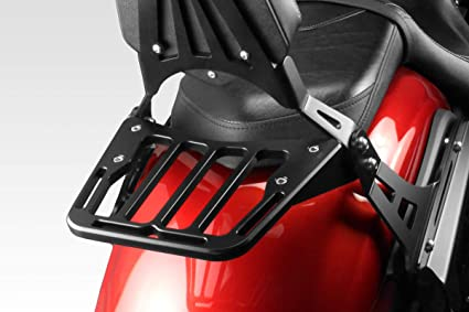 - 100/% Made in Italy XVS 1300 Custom 2014//19 F/ácil Instalaci/ón S-0483B Portaequipaje DPM Race Accesorios De Pretto Moto - Porta Equipaje Baca Trasero de Aluminio