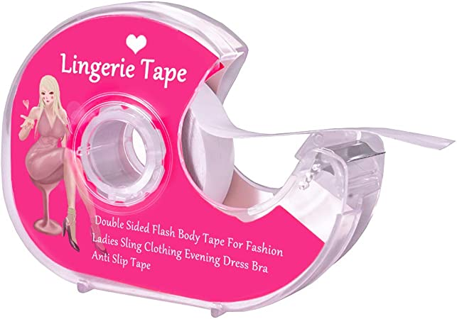 80 X Doubled sided fashion tape Clothes Boob Body Lingerie Dress Breast Clear UK