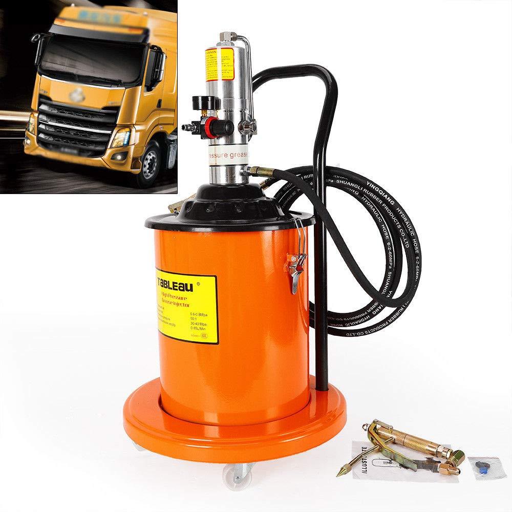 TUQI 5 Gallon Air Operated High Pressure Grease Pump + Pneumatic Universal Gun & Hose by TUQI (Image #1)
