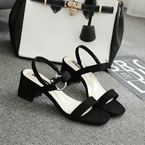 Koreanische Koreanische Koreanische Sommer Mit Groben Platz Der Sandalen Schuhe 765f04