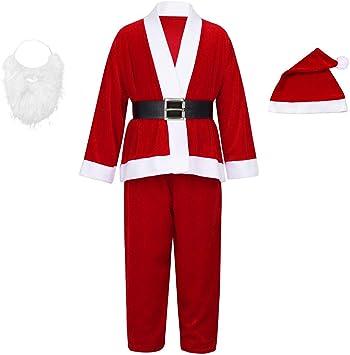 Disfraz de Papá Noel para Infantil,niño y Adulto con Chaqueta ...