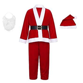 Disfraz de Papá Noel para Infantil,niño y Adulto con ...