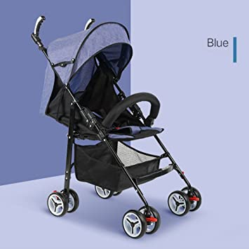 El Cochecito de bebé Ultra Ligero Puede mentir el Paraguas Plegable Simple del niño del Carro Portable del niño del bebé del bebé: Amazon.es: Hogar