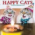 2018 Happy Cats Wall Calendar