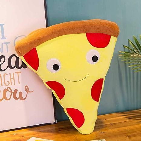 LHSZ Linda Caricatura Creativa simula bocadillos Pizza cojín ...
