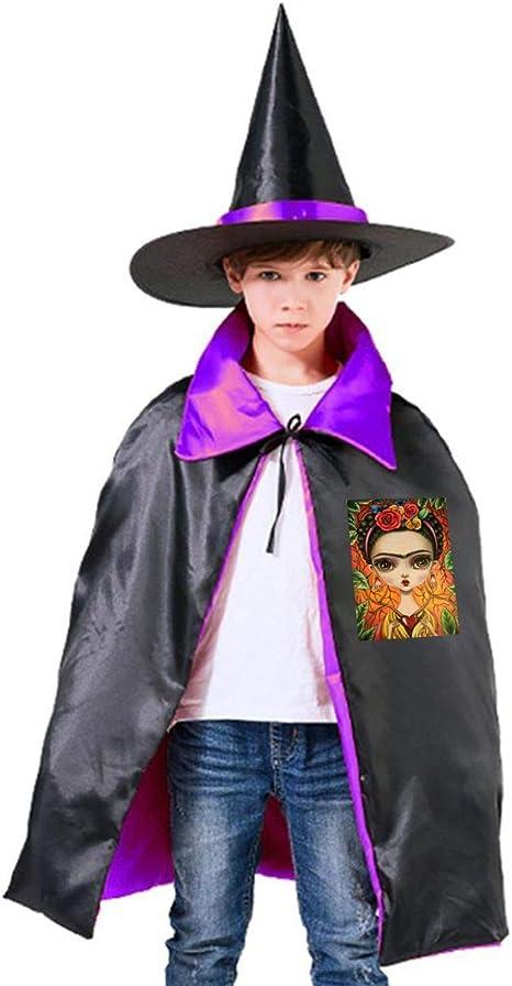NUJSHF Frida Kahlo Capa con Capucha Unisex para niños, para ...