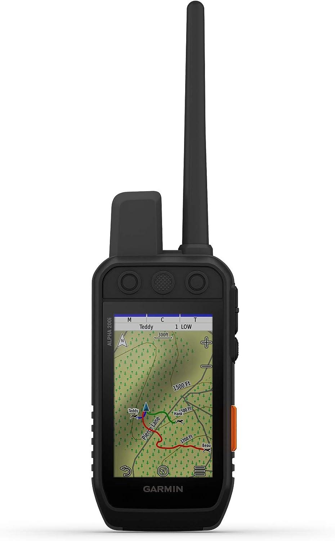 Garmin Alpha 200i Dog Tracking Handheld, Utilizes inReach Technology, Sunlight-readable 3.6