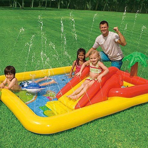 Kids Inflatable Pool Small Kiddie Blow Up Above Ground