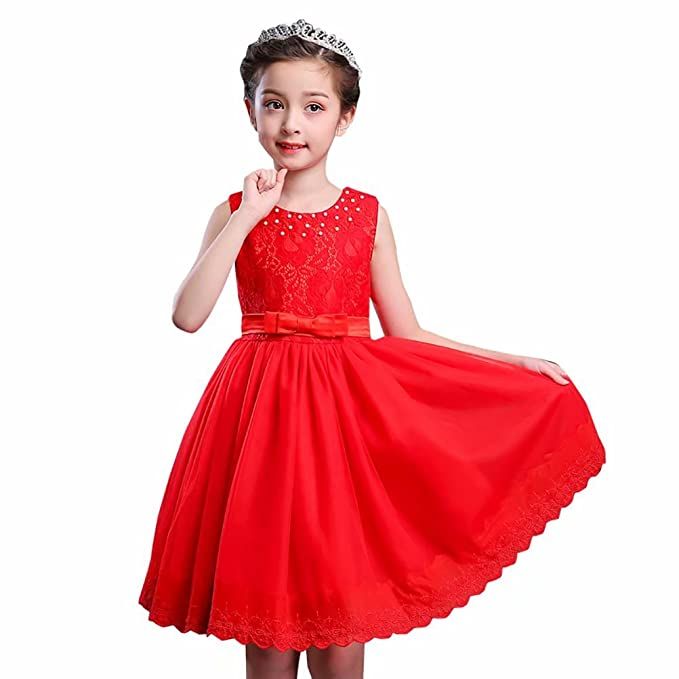 Amazon.com  SUSIELADY Girl Princess Birthday Party Elegant Lace Dress  Toddler Kid Tulle Flower Vintage Swing Prom Dresses  Clothing 1b22f424e