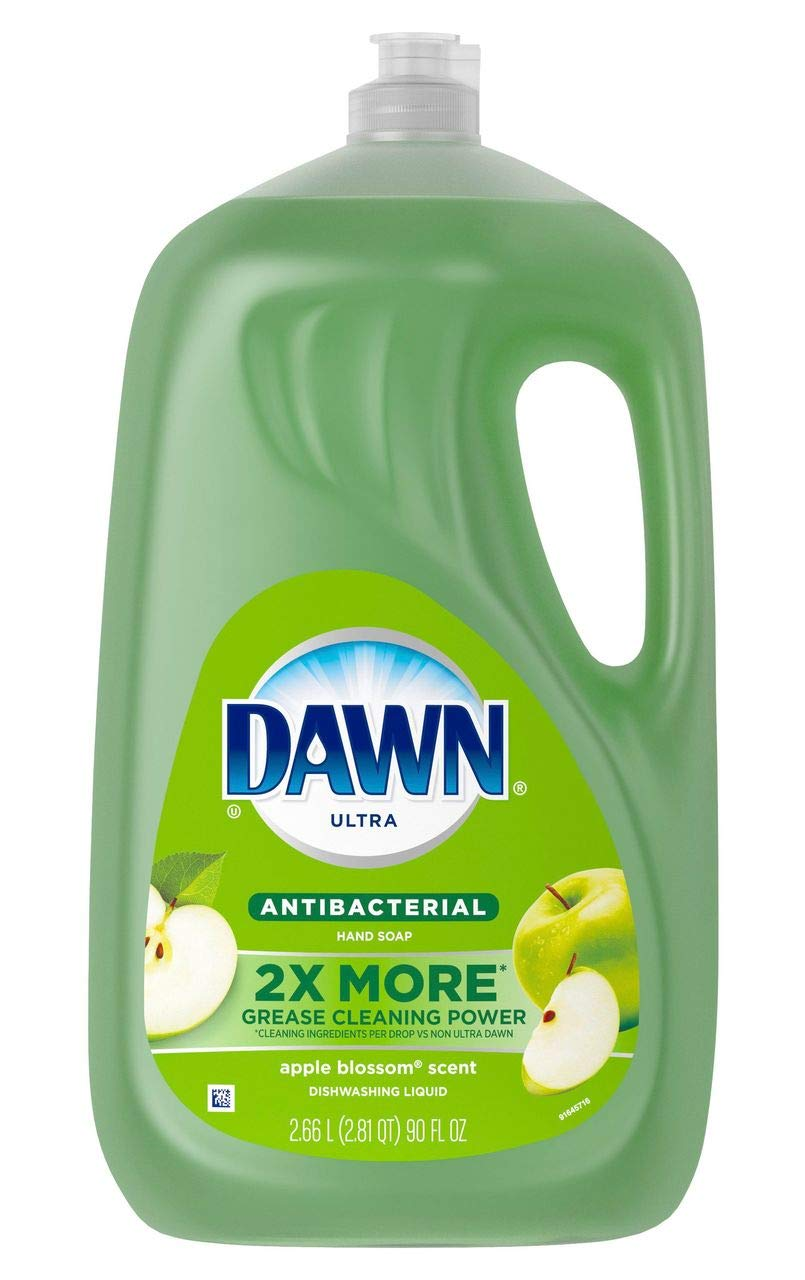 Product of Dawn Ultra Antibacterial Dishwashing Liquid, Soap Apple Blossom Scent