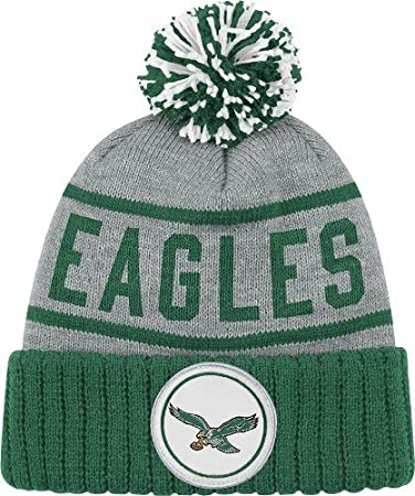 Image Unavailable. Image not available for. Color  Philadelphia Eagles High  5 Vintage Cuffed Pom Hat 9c3e5d0b4