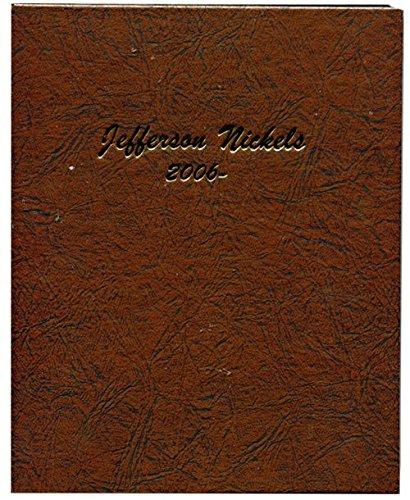 Dansco US Jefferson Nickel P & D Coin Album 2006 - Date #7114 (Album Nickel)