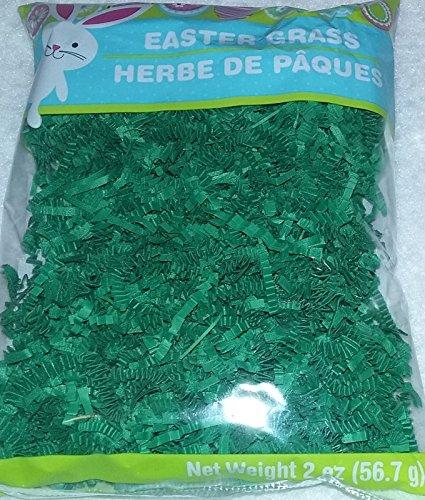 Easter Grass (Shredded) Green - 2oz Pack