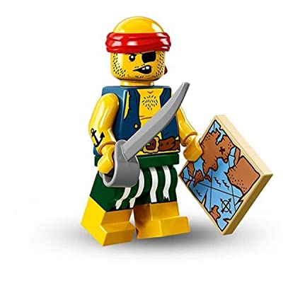 LEGO Series 16 Collectible Minifigures - Scallywag Pirate (71013): Toys & Games
